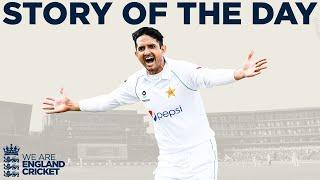 Shan Masood Hits Ton Before Pakistan Bowlers Dominate | England v Pakistan