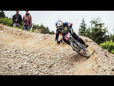 Myriam Nicole's Vallnord Women's Winning MTB Run  UCI Mountain Bike World Cup 2017