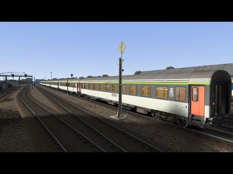 Train Simulator 2017 / Triangle du Cantal / Aurillac - Mauriac / Voitures Corail VU