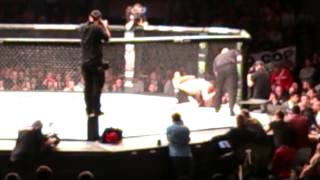 ufc gonzaga vs cro cop 2   end of fight ko   krakw