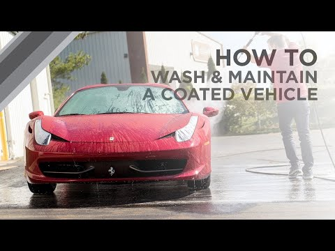How to wash and maintain a coated vehicle - ESOTERIC Car Care!