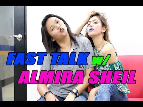 GUSTO NI ALMIRA, MATIGAS!?!? FAST TALK WITH ALMIRA SHEIL!