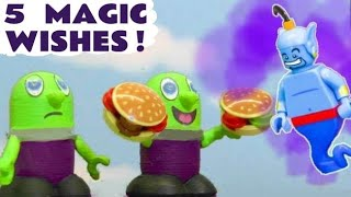 Funlings Magic 5 Wishes Story For Kids with Toy Trains