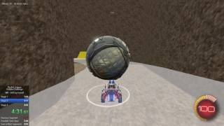 Rocket League Dribble Challenge Speedrun in 7:12