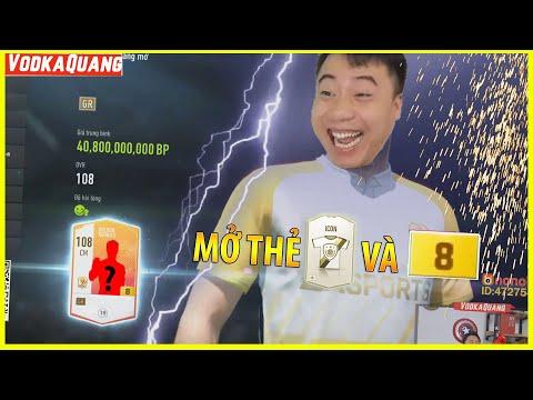 Vodka Quang | Cuối tháng Dồn mở thẻ ICON và +8 bất ngờ ra Hàng Siêu Xịn - Fifa Online 4