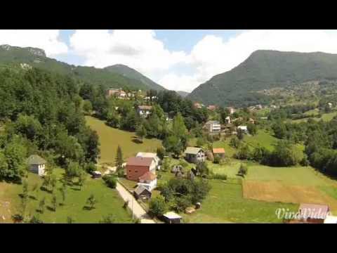 Petnjica - snimak iz vazduha sa drona