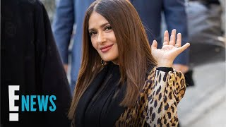 Salma Hayek Explains Why Angelina Jolie SMASHED Her Face Into Cake | E! News