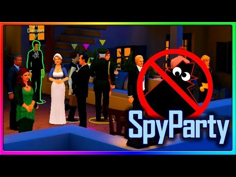 SpyParty - WE'RE ACTUAL SPYS NOW! | SpyParty Gameplay
