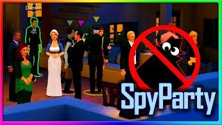 SpyParty - WE'RE ACTUAL SPIES NOW! | SpyParty Gameplay