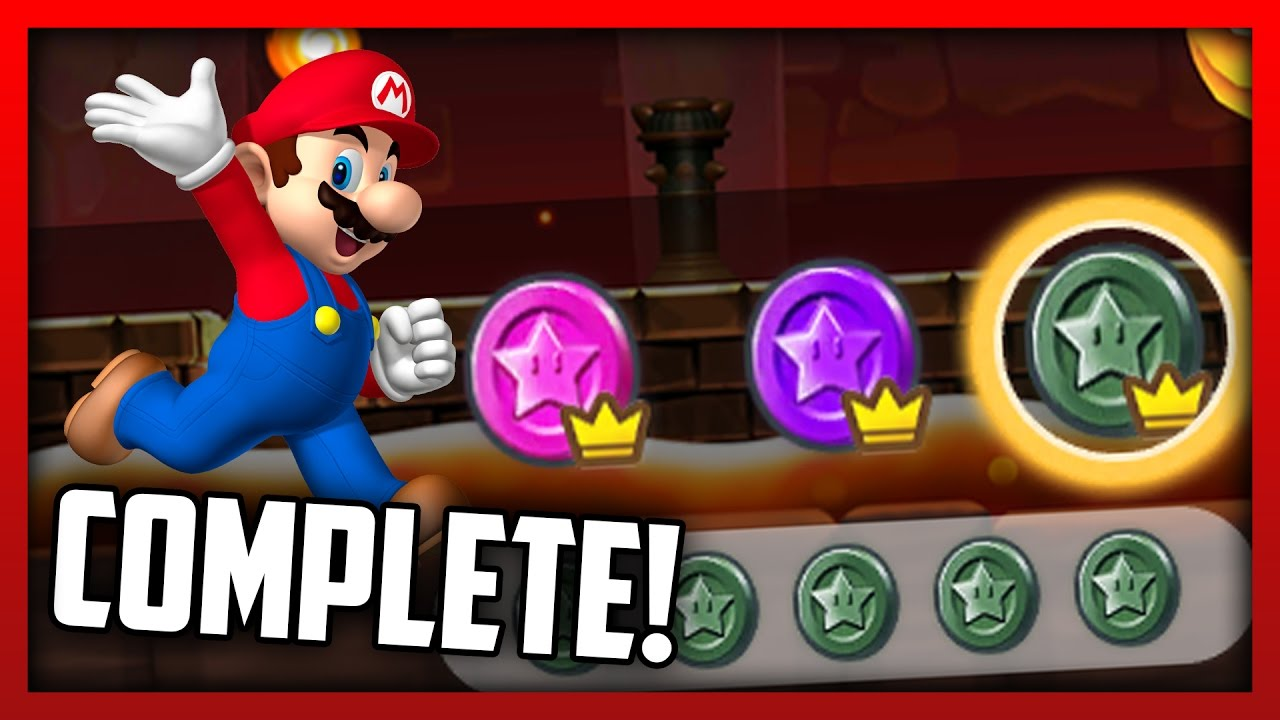 Super Mario Run Complete Gameplay! LAST LEVEL ALL BLACK/PURPLE/PINK COINS!!