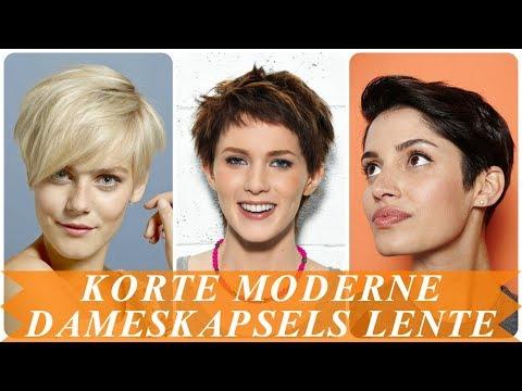 Korte Moderne Dameskapsels Lente 2018