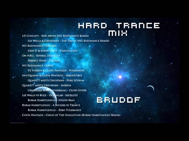 New Hard Trance / Hard Dance Mix Summer 2014 (1.5 hrs, HQ + tracklist)