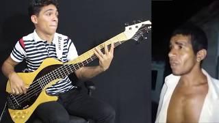 Guitarra Humana vs Contrabaixo no Forró