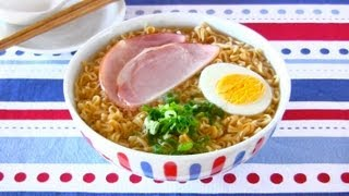 How To Make Ponyo Ramen Noodles (as Seen In The Movie) ポニョ ラーメン - Ochikeron - Create Eat Happy