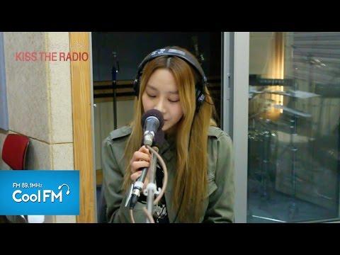베스티 유지 'Kissing U' 라이브 LIVE / 1500412[슈퍼주니어의 키스 더 라디오]