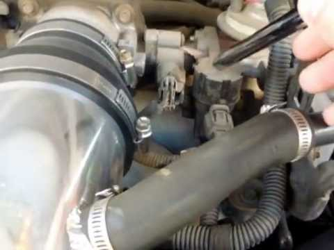 1997 Ford Expedition 54L V8 Triton EGR Valve Solenoid Location  YouTube
