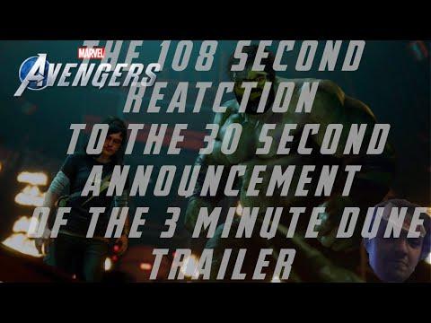 Dune 2020 Trailer Reaction – AOW Streams