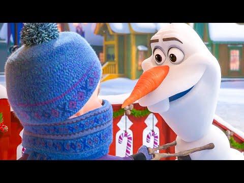 OLAF'S FROZEN ADVENTURE First Movie Clip + Trailer (2017)