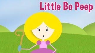 Little Bo Peep Nursery Rhyme by Oxbridge Baby