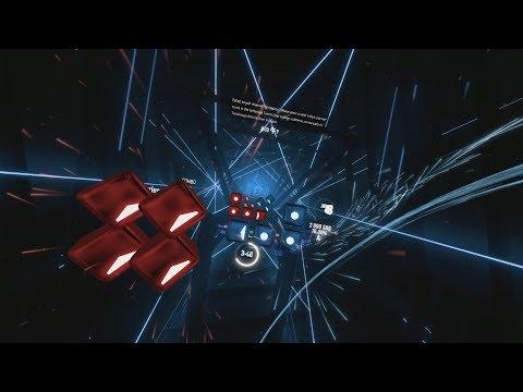 [Beat Saber] GHOS7 (GHOST EXPERT+++++++) 8-LANE   74.45% A