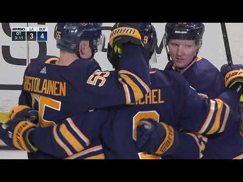 Jeff Skinner slams home rebound for PPG in OT