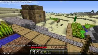 MINECRAFT 1.9 PRE RELEASE NPC Village!