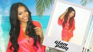 How To Clip In & BLEND Extensions! Summer Beachy Hair Tutorial | GlamPalm