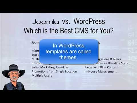 An Overview Of The Joomla Content Management System