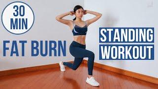 30分鐘全身消脂減肥站立式運動   不用跳不用瑜伽墊 ~ Emi