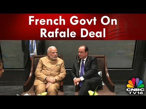 French Govt Says Not Involved in Choice of Indian Partners for Rafale Deal   CNBC TV18  