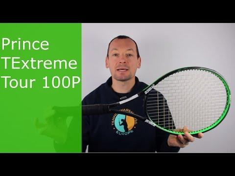 Test de la raquette de tennis Prince TExtreme Tour 100P