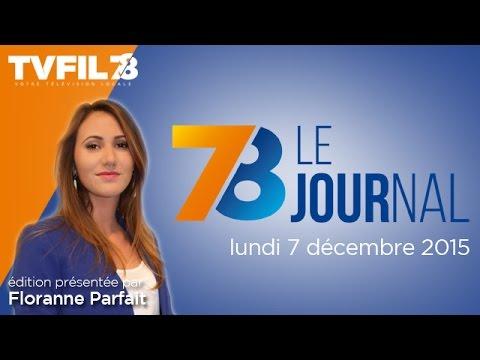 7/8 Le journal – Edition du lundi 7 décembre 2015