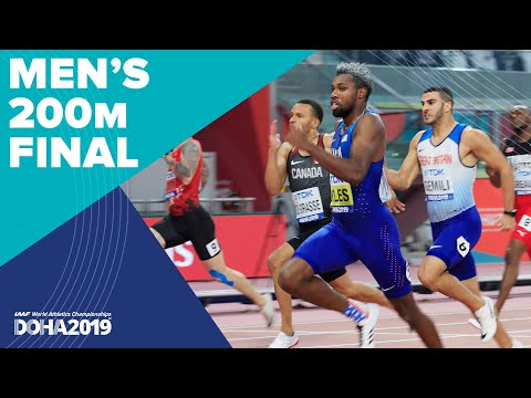 Men's 200m Final | World Athletics Championships Doha 2019