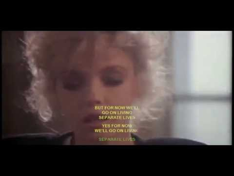Phil Collins - Separate Lives (with lyrics)