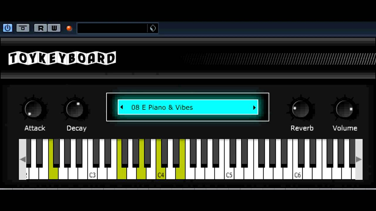 Free VST/AU - Toy Keyboard Synth - vstplanet com
