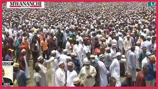 LIVE: Maalim Seif Sharif Hamad's body arrives in Zanzibar