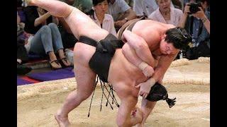 Top 5 best fights Sumo #9 Професиональное сумо