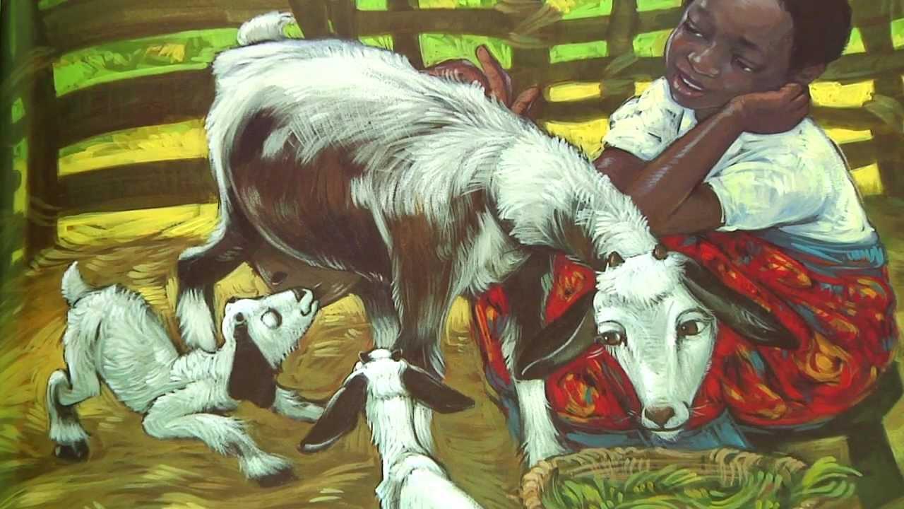 Patrick Rothfuss Reads Beatrice's Goat - YouTube