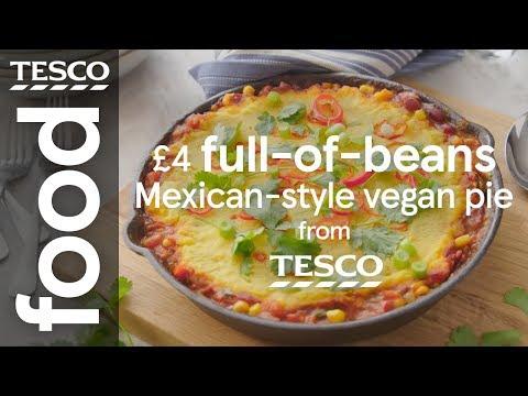 4 Mexican Style Vegan Pie Tesco Food Youtube