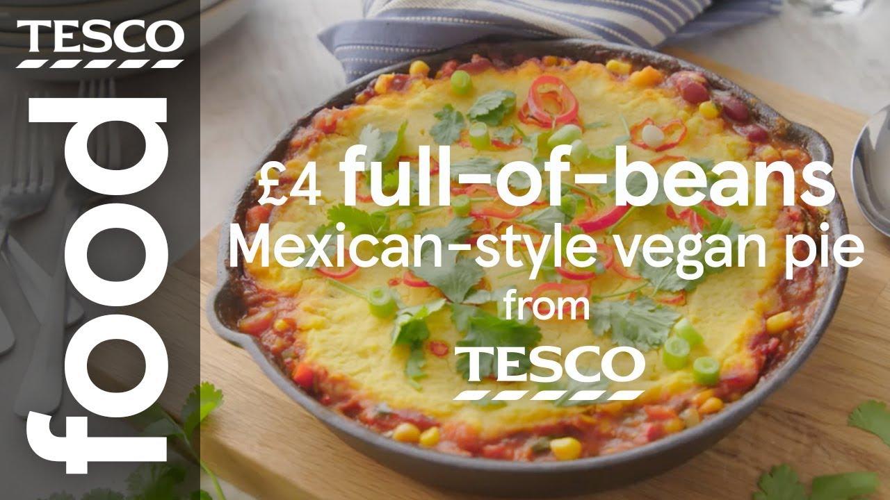 4 Mexican Style Vegan Pie Tesco Food