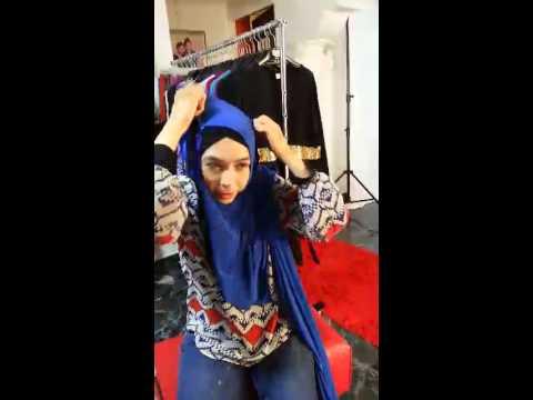 DINARYS INSTANT SHAWL TUTORIAL by ELLE ZADA | Doovi