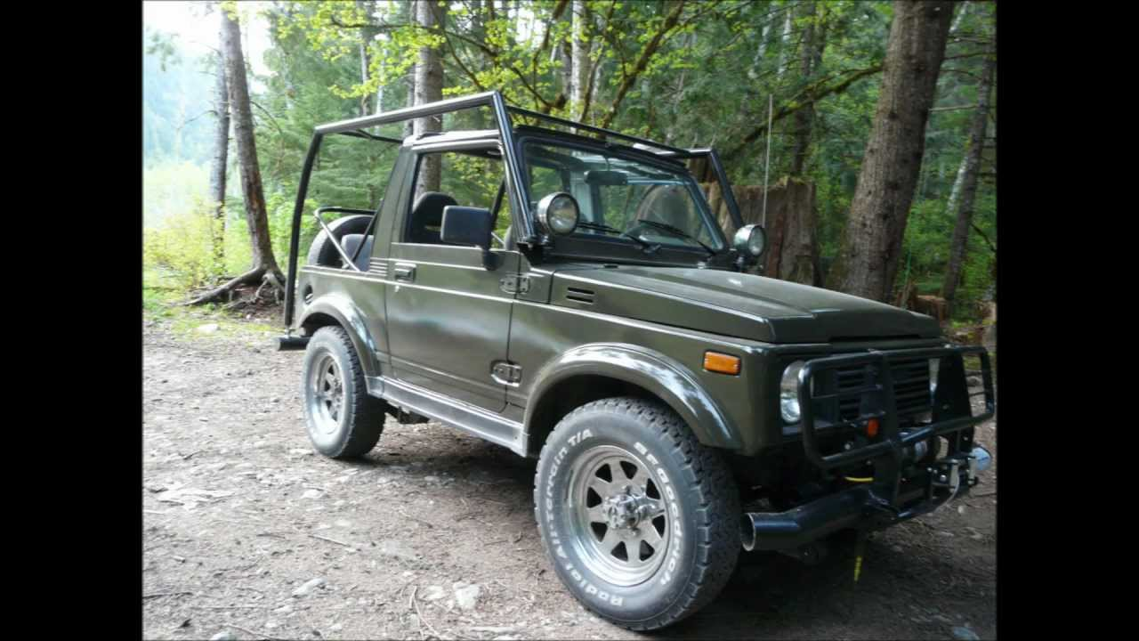 Zuke 1988 Suzuki Samurai Bush Beast Youtube