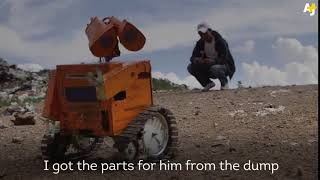 Copy of Bolivian WALL E  Teen Inventor Makes Robots Out Of Trash