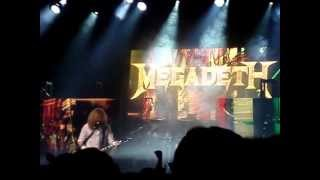 Megadeth - Cold Sweat - live at Manchester Academy 5 June 2013 MOV07310