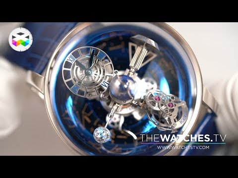 Unboxing the Jacob & Co. Astronomia Sky - Platinum Version