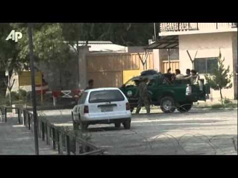 Gunmen attack US Embassy in Kabul
