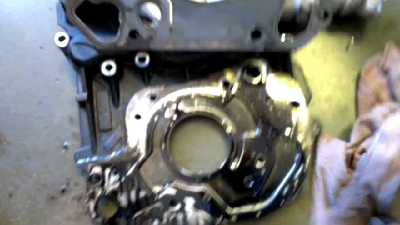 Shop Update 11 19 2012 6 4l Front Cover Repair Youtube