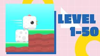 Square Bird Game Walkthrough LV1-50