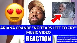 😂 Ariana Grande No Tears Left to Cry Music Video [REACTION] | No Tears Left to Cry REVIEW