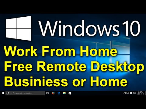 ✔️ Free Remote Desktop with Remote Control Utilities - Connection for 10 Computers, Business or Home